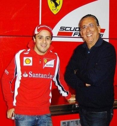 Por seus tantos anos na F1, virou habitué dos bastidores da categoria