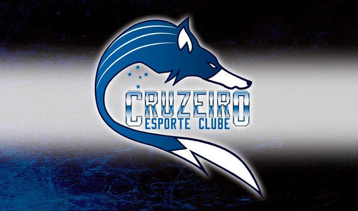 Por um futebol mais bonito: escudo remodelado do Cruzeiro.