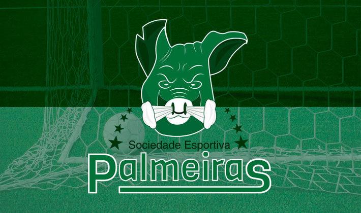 Por um futebol mais bonito: escudo remodelado do Palmeiras.