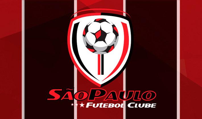Por um futebol mais bonito: escudo remodelado do São Paulo.