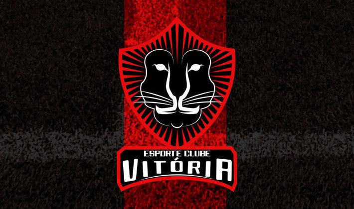 Por um futebol mais bonito: escudo remodelado do Vitória.