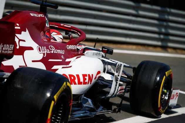 Porém, Räikkönen ainda não pontuou em 2020