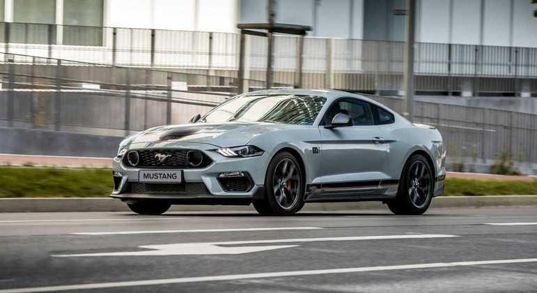 Ford vendeu mais de 80 unidades do Mustang