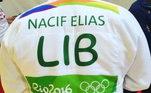 Nacif foi o porta-bandeira do Líbano na Olimpíada do Rio 2016. Em português, inglês e árabe, o judoca escreveu: 'Quero deixar toda a minha solidariedade ao povo libanês, que também é o meu povo, por esse atentado, pela crise financeira que estão passando e pela miséria que o povo está vivendo'