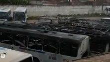 Incêndio destrói seis ônibus urbanos em empresa de João Pessoa