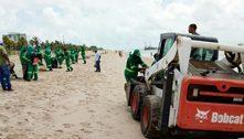 Corrente marítima pode ter trazido onda de lixo para praias da Grande João Pessoa