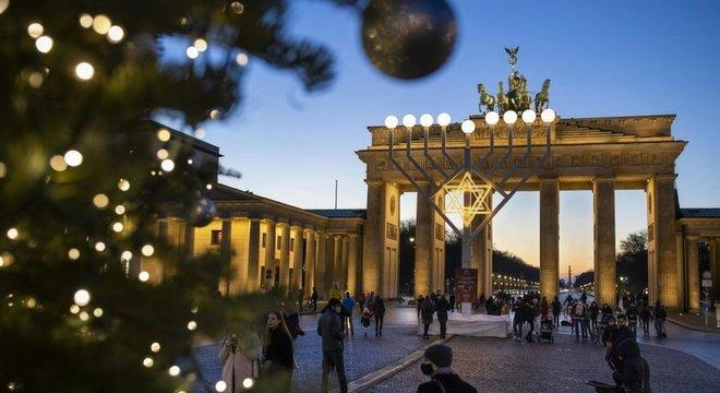 Alemanha entrou em uma nova quarentena em meados de dezembro