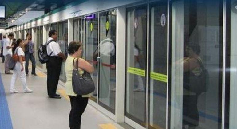 Metrô de SP retoma contrato com consórcio para instalação de portas de plataforma
