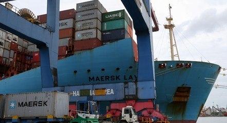 Minério de ferro foi a carga mais movimentada nos portos