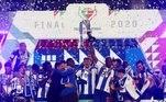 Em Coimbra, campeão português e vice se enfrentaram pela final da Taça de Portugal. E o resultado foi a dobradinha do Porto, que venceu o Benfica por 2 a 1