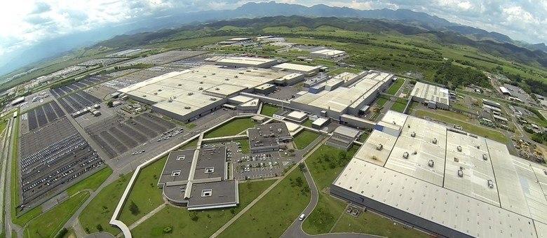 Fábrica de Porto Real/RJ de onde saem produtos das marcas Peugeot e Citroën