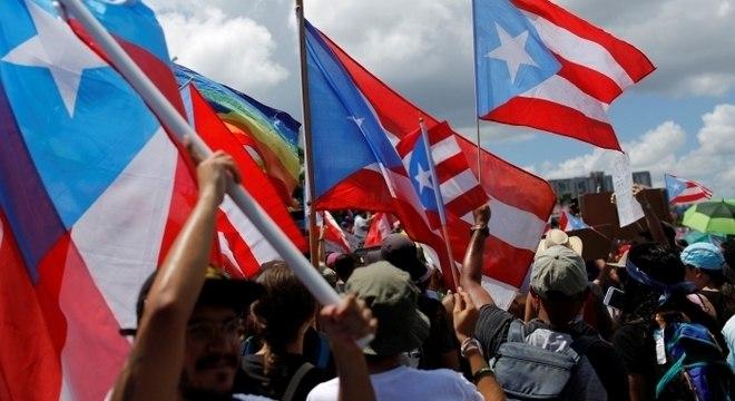 Cerca de um milhão de porto-riquenhos foram às ruas, segundo imprensa local