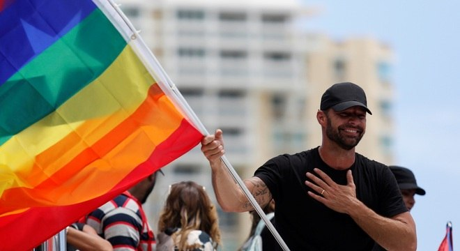 Ricky Martin voltará a Porto Rico para apoiar protestos