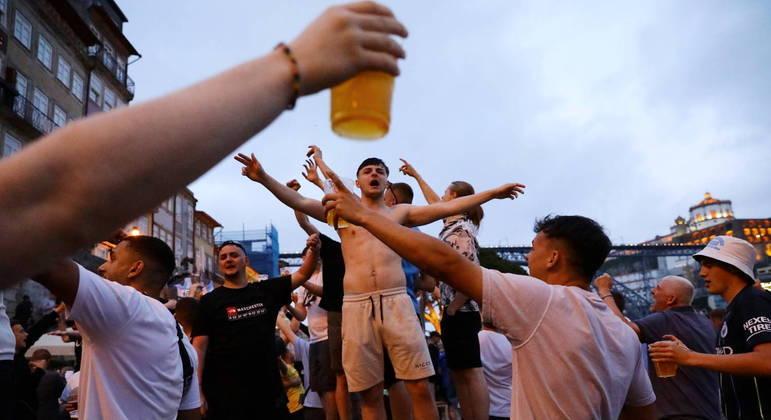Final de campeonato europeu gerou aglomerações em Portugal