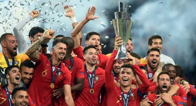 """Portugal, o campeão da """"Nations League"""" de 2019, eliminado na Euro2020"""