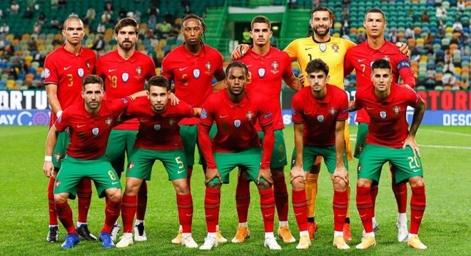 Portugal (mas, com a Covid-19, o CR7 não jogará)