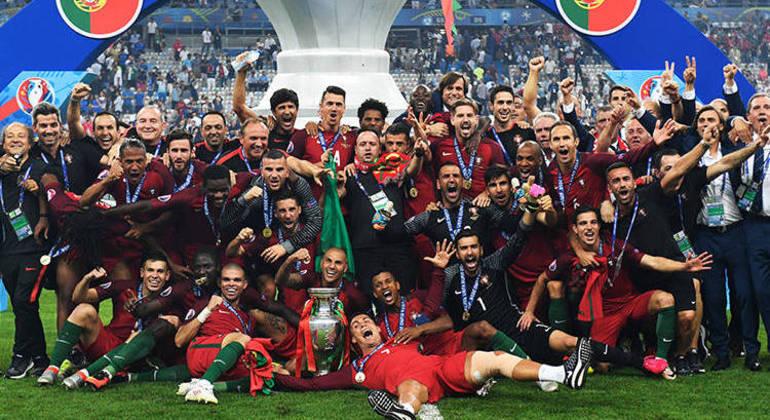 Portugal, o campeão da Euro2016