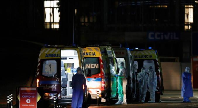 Portugal transfere pacientes de covid-19 para outros hospitais