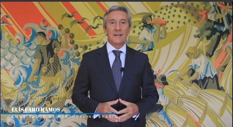 O embaixador de Portugal no Brasil, Luís Faro Ramos