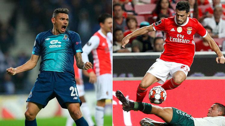 Portugal (Liga NOS) - Porto e Benfica seriam os times do país na próxima Liga dos Campeões 2020/21. por serem atualmente os dois primeiros colocados do Campeonato Português
