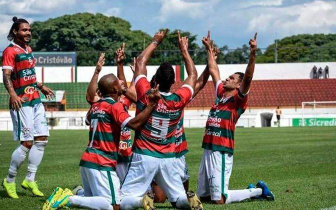 Portuguesa - Divisão atual: Série D do Brasileirão - Destaque: 5ª força de São Paulo por muito tempo e teve nomes como Basílio, Dener, Djalma Santos e Roberto Dinamite.