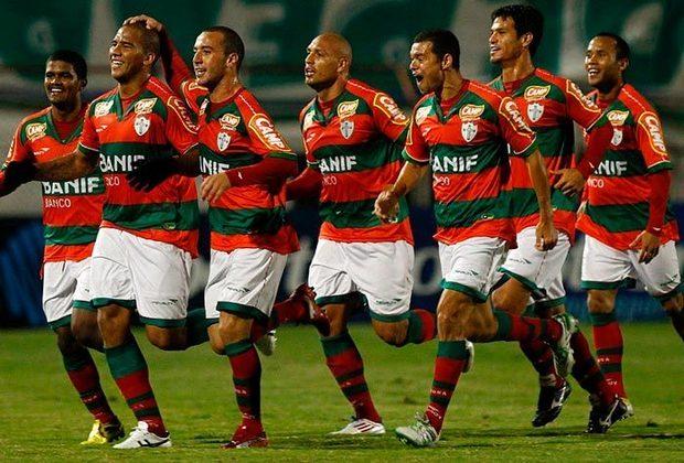 Portuguesa - Tradicional clube paulista, é o quinto maior clube de São Paulo ativo em títulos estaduais, participações na elite e número de pontos conquistados no Campeonato Paulista.