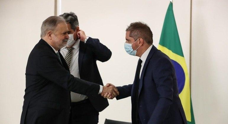 Bruno Bianco participou presencialmente da cerimônia de posse do PGR, Augusto Aras