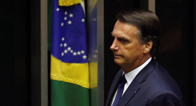 Trump elogiou, no Twitter, o discurso de posse de Jair Bolsonaro