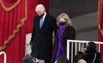 Bill Clinton e sua esposa, Hilary Clinton