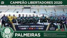 Baixe aqui o pôster do Palmeiras, campeão da Libertadores 2020