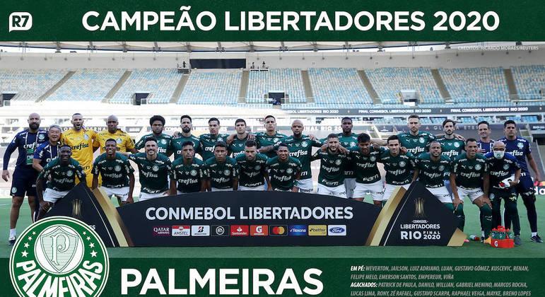 Confira os campeões da Libertadores pelo Palmeiras