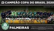 Baixe aqui o pôster do Palmeiras, campeão da Copa do Brasil 2020