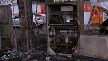 Três homens fogem após atear fogo em posto na zona norte de SP