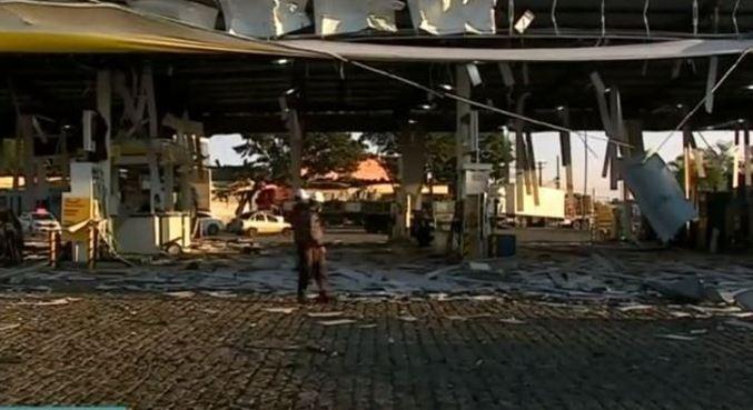 Explosão em posto de combustíveis de Rio Claro (SP) deixou um morto