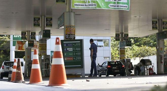 Postos ficaram sem combustíveis durante a greve dos caminhoneiros
