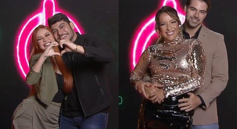 Mirela e Yugnir e Renata e Leandro vão participar da quinta temporada do Power Couple Brasil