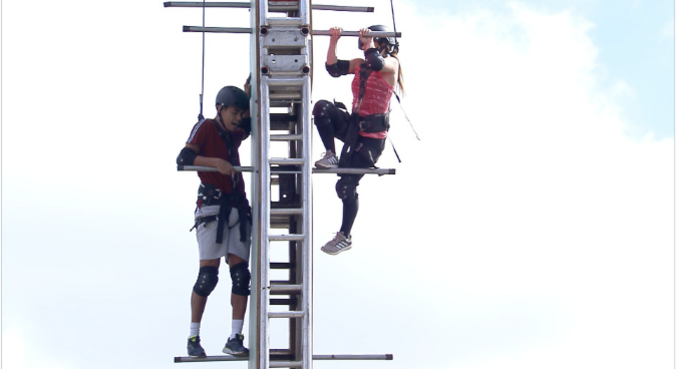 Prova dos Casais vai testar o medo de altura dos participantes