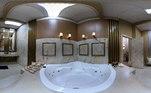 A banheira da Suíte Power é perfeita para uma nova lua de mel