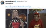 No primeiro lugar absoluto entre os assuntos mais comentados nas redes sociais, a estreia do Power Couple Brasil 5 deu o que falar!Os fãs do programa não deixaram passar nenhum detalhe! Da semelhança entre Mirella e Medrado ao look da apresentadora, tudo caiu na rede e, claro, virou meme!