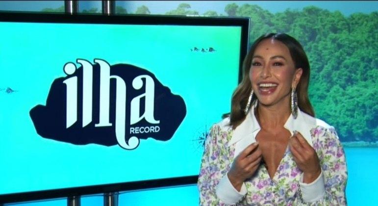Sabrina Sato revela detalhes de Ilha Record