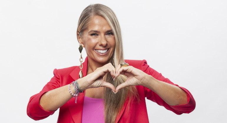 Adriane Galisteu é a apresentadora da quinta temporada do Power Couple Brasil