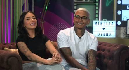 Mirella e Dynho comentam polêmicas do Power Couple