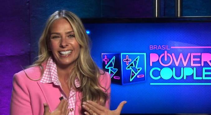 Adriane Galisteu fala sobre a expectativa para a estreia do Power Couple Brasil