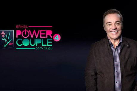 Gugu é o apresentador do 'Power Couple Brasil'