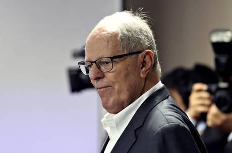 O ex-presidente peruano está internado na UTI