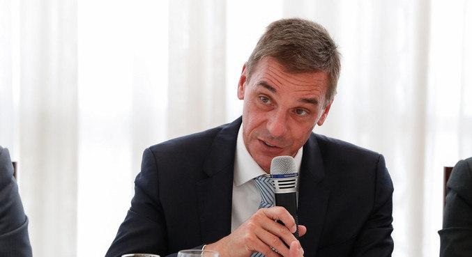 O presidente do Banco do Brasil, André Brandão