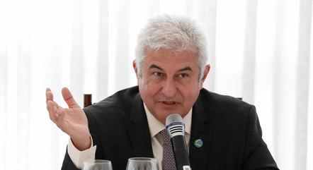 O ministro Marcos Pontes