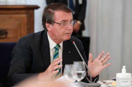 Bolsonaro fez declaração no Twitter