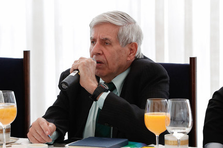 Na imagem, ministro do GSI, Augusto Heleno