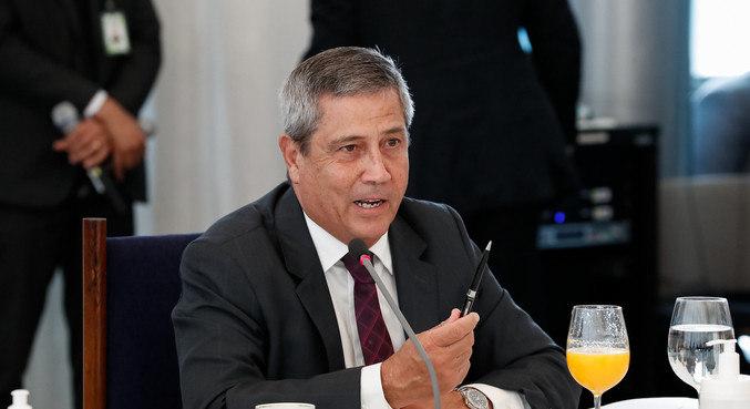 O ministro chefe da Casa Civil, Braga Netto, que vai para o Ministério da Defesa